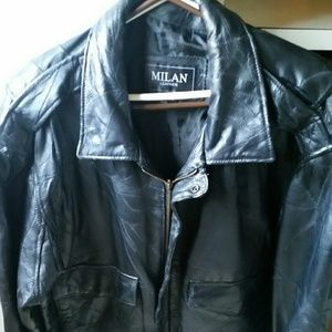 Other - Men's Milan leather jacket